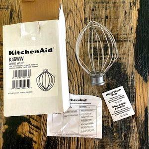 NEW Kitchenaid K45WW Wire Whip Mixer Wisk